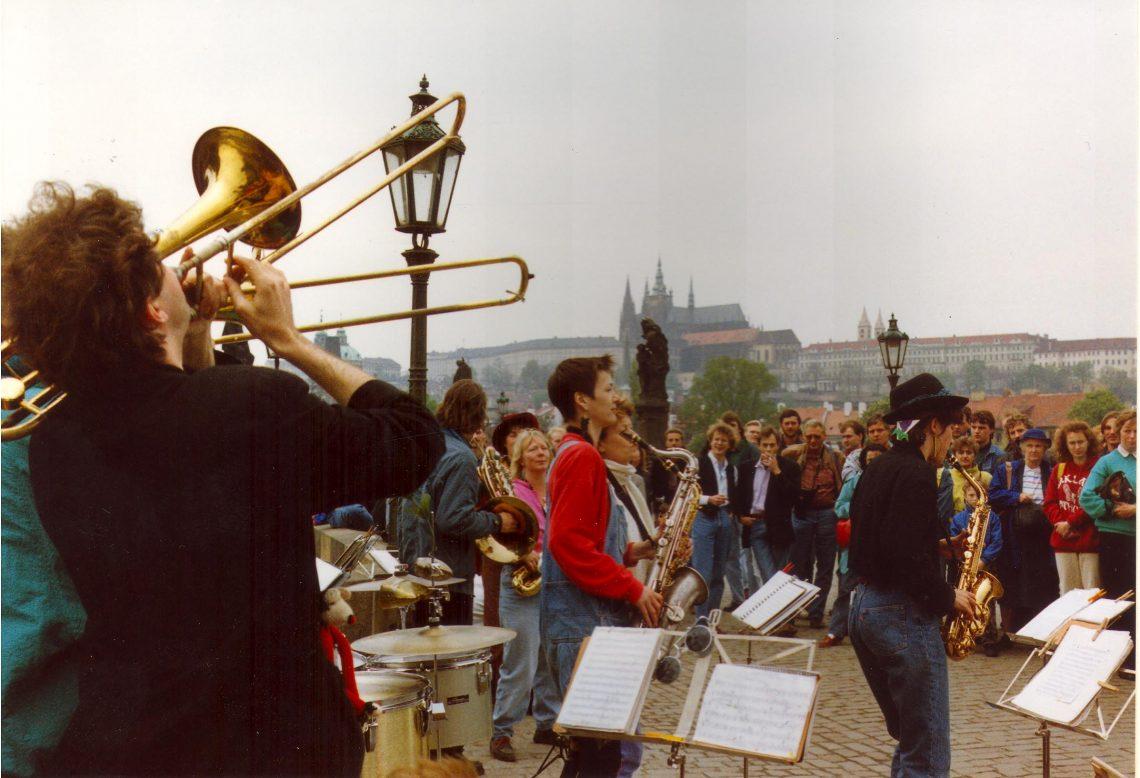 Tegenwind in Praag - 1991